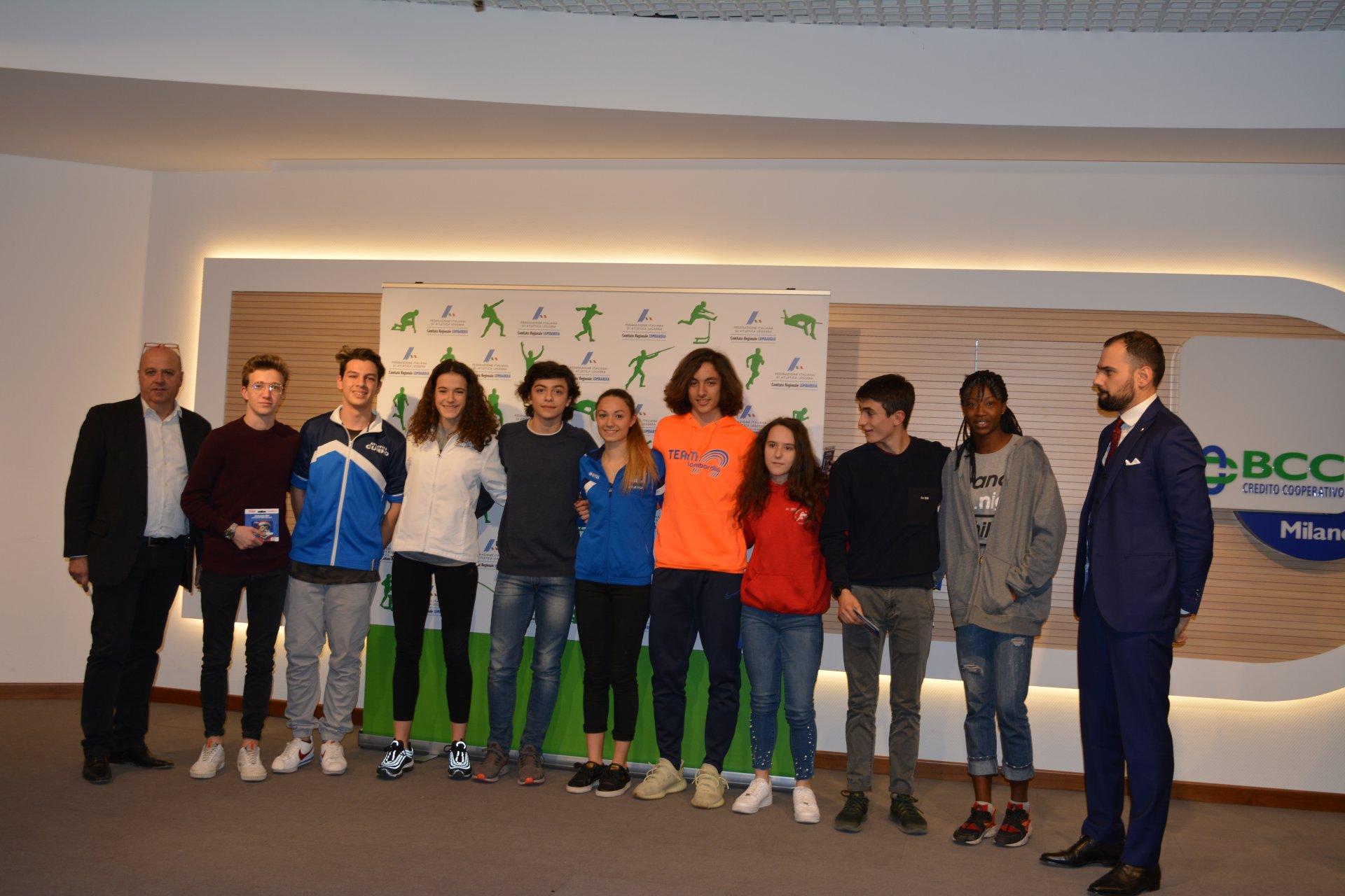 Carugate festa Fidal atletica leggera Lombardia