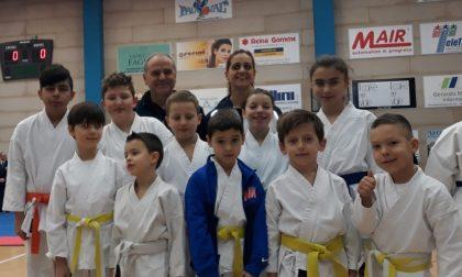Karate, Kb Cambiago brilla ai Provinciali Csi