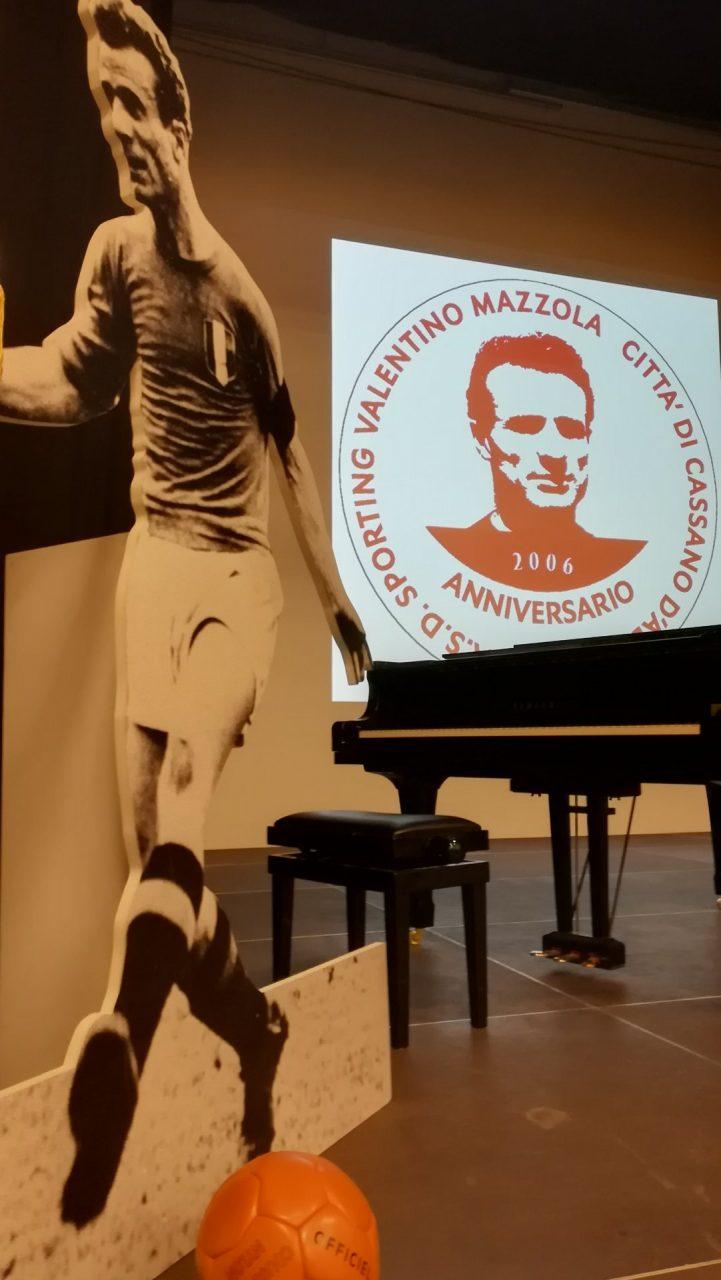 festa per il centenario della nascita di Valentino Mazzola