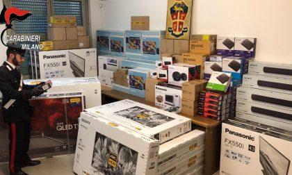 Furto di prodotti di elettronica da 50mila euro, arrestato