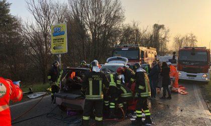 Grave frontale a Burago di Molgora: quattro feriti
