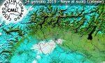 Domani arriva la neve in collina   Previsioni Meteo Lombardia
