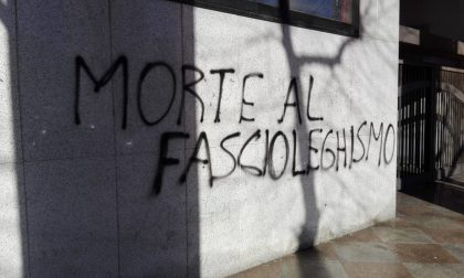 """Murales antifascisti contro CasaPound e Governo: """"Morte al fascioleghismo"""""""