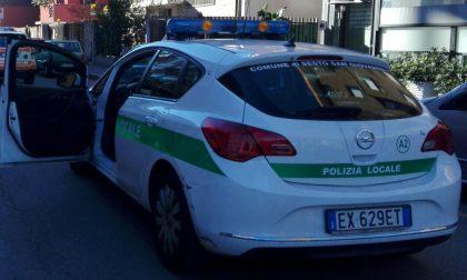 Polizia locale sgombera casa occupata abusivamente