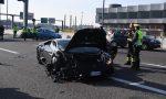 Lamborghini causa uno scenografico incidente a Cinisello FOTO