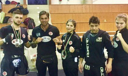 Tre titoli italiani conquistati sul ring dalle promesse della Dynamic center sport