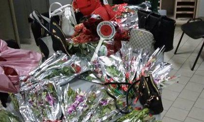 Blitz di San Valentino: sequestri e multe per 12mila euro agli abusivi
