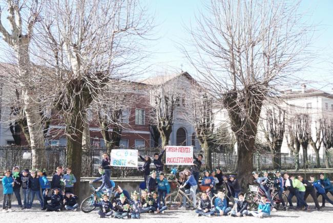 La voce dei bambini di Fara per la Giornata mondiale del clima FOTO