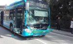 Incidente tra autobus e trattore FOTO