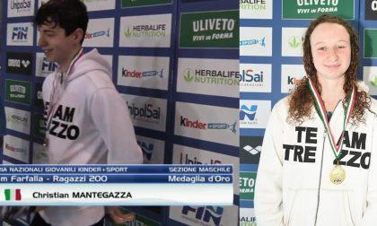 La Team Trezzo sport sul tetto d'Italia vincendo per sei volte l'oro ai Campionati italiani giovanili di nuoto
