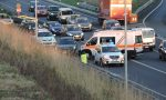 Incidente a Pessano: grave motociclista, traffico bloccato FOTO