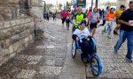 Disabile corre la maratona grazie alle gambe di Raffaele