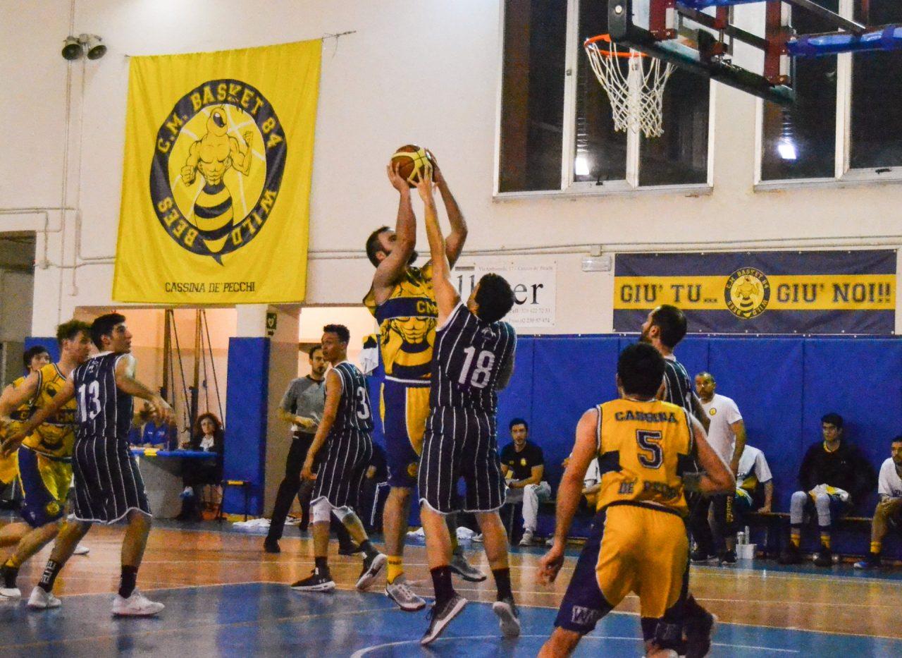pallacanestro serie d maschile cm cassina forze vive inzago foto azione
