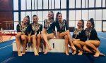 Ginnastica, altro fine settimana di successi per l'Asd Olimpia