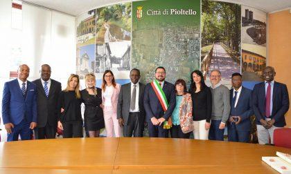 Delegazione ivoriana in visita a Pioltello