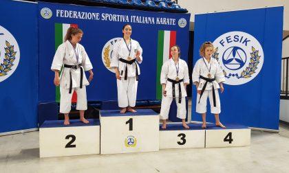 Titolo italiano di karate per la cassinese Sofia Cambula