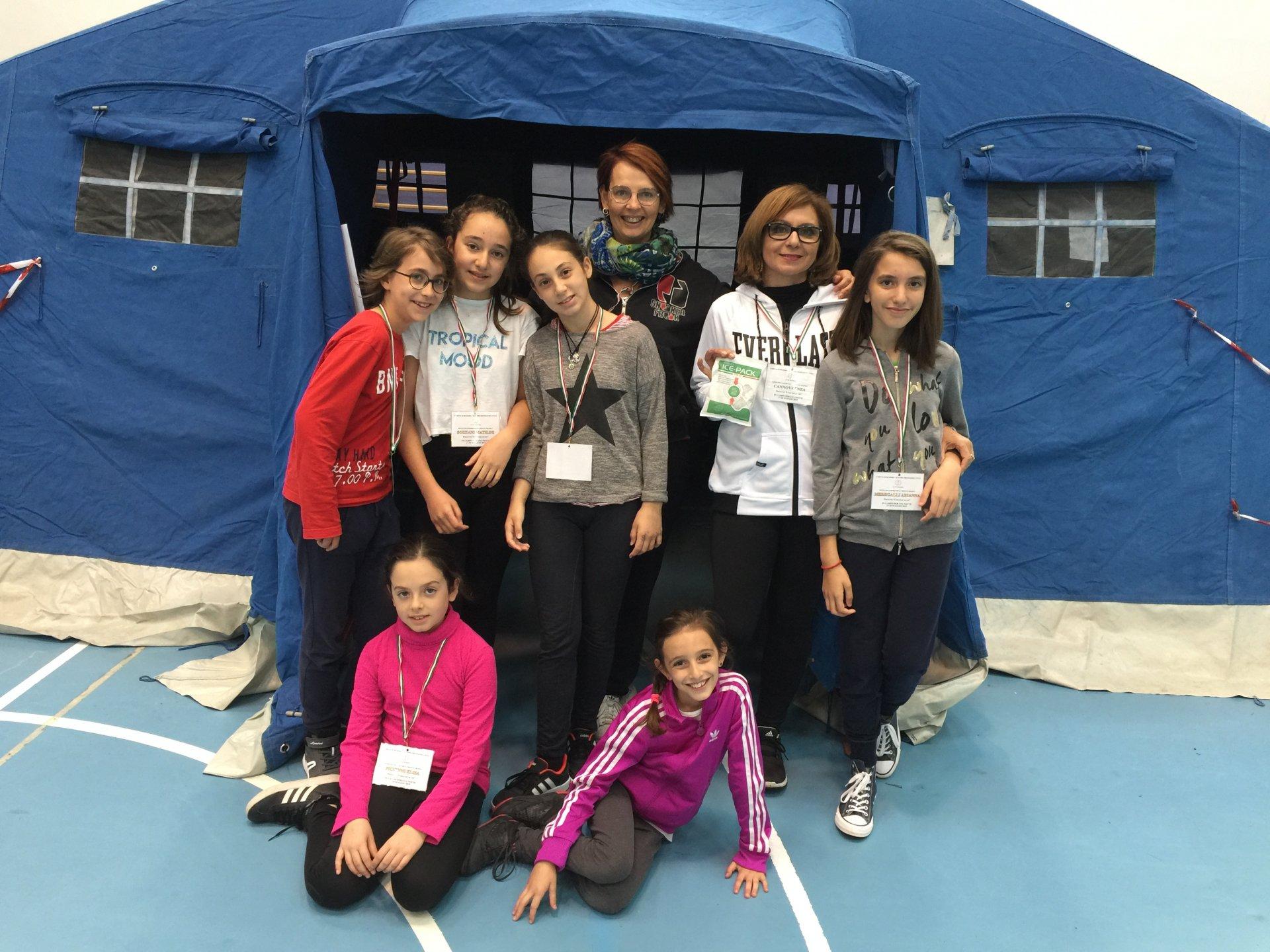 Bussero notte in tenda con la Protezione civile per i bambini della primaria Monte Grappa