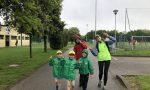 Camminata del volontario sotto la pioggia per una buona causa FOTO