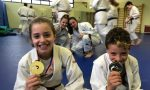 I fratelli Tavilla baby campioni d'Italia della Scuola di judo Trezzo