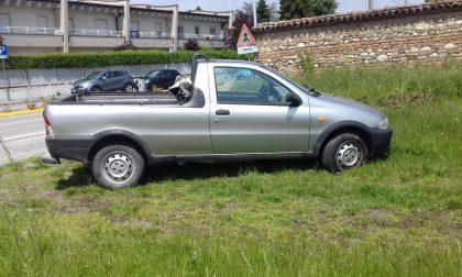 Rinvenuto a Grezzago veicolo rubato nelle Marche