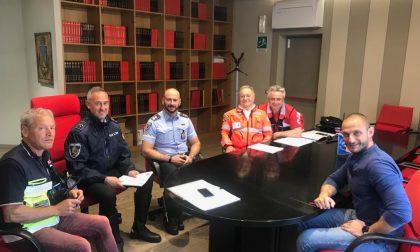 Campo di Protezione civile della Croce Rossa a Capriate