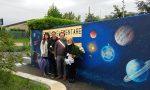 Consegnato il murale alla scuola di Grezzago