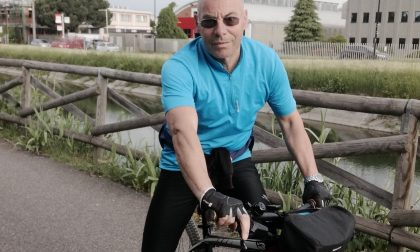 Infermiere fino in Salento in bicicletta