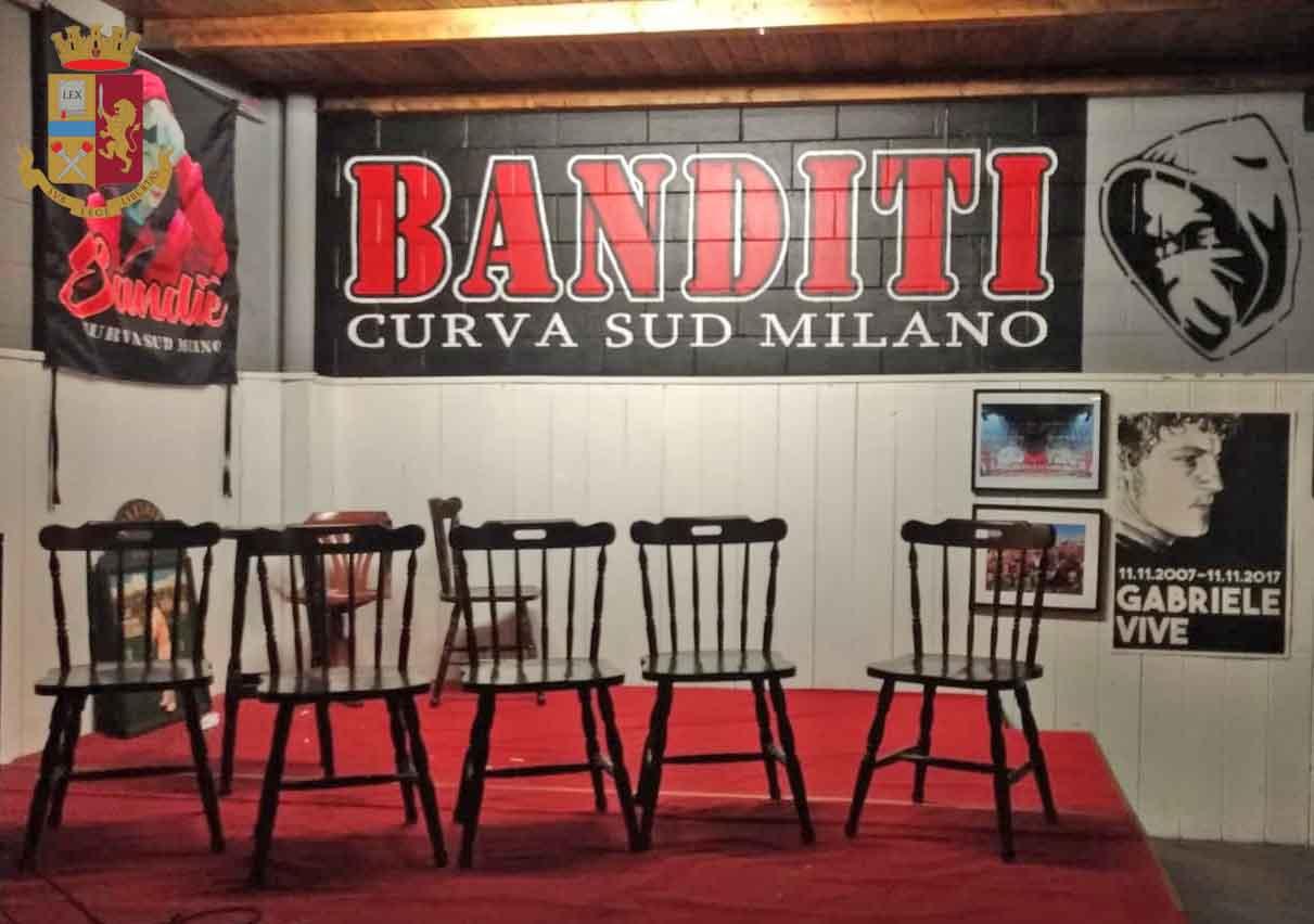 Sequestro per un milione di euro al capo ultras del Milan