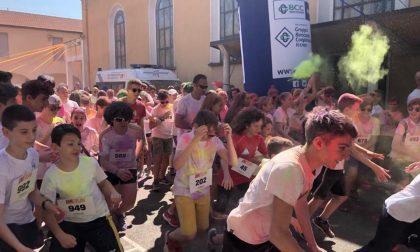 All'Imi di Gorgonzola la corsa è... colorata FOTO