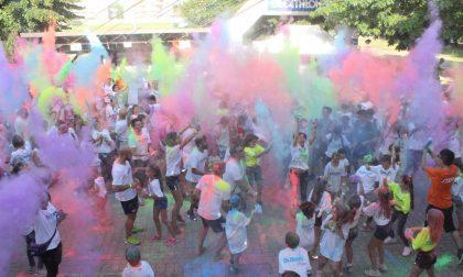 Color Run all'oratorio di Inzago