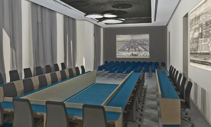 Lavori a Cernusco, la sala consiliare e l'auditorium Maggioni saranno riqualificati