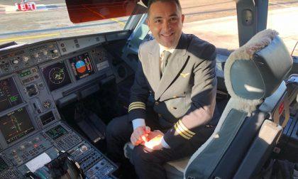 Un passeggero speciale per il pilota di Carugate: Papa Francesco