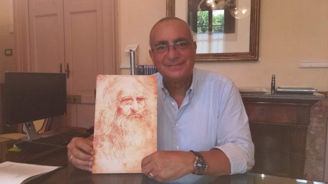 Francesco Fava svela un volto nascosto nell'occhio di Leonardo