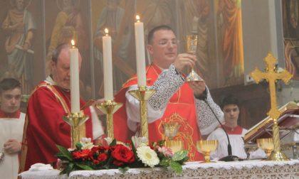 Prima Messa di don Luca Invernizzi. Tutto il paese in festa