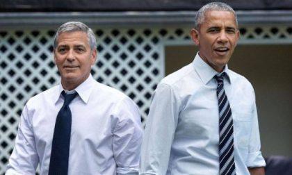 Gli Obama da George Clooney a Laglio