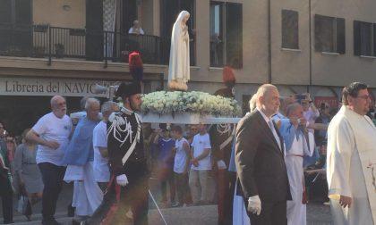 La Madonna pellegrina di Fatima è arrivata a Cernusco sul Naviglio