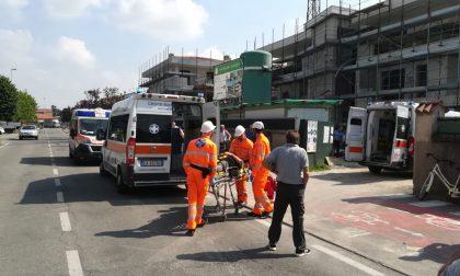 Incidente sul lavoro a Cassano, tre persone coinvolte: elisoccorso e pompieri sul posto FOTO