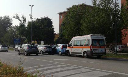 Tamponamento sulla Padana a Inzago, traffico a rilento