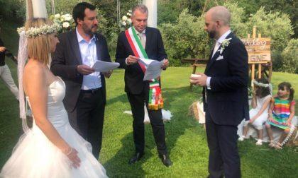 Matteo Salvini in Brianza ha sposato Igor De Biasio