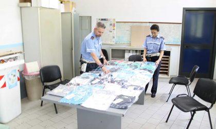 Fabbrica clandestina di merce contraffatta scoperta dai vigili