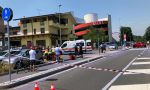 Grave incidente tra Carugate e Cernusco motociclista in codice rosso FOTO