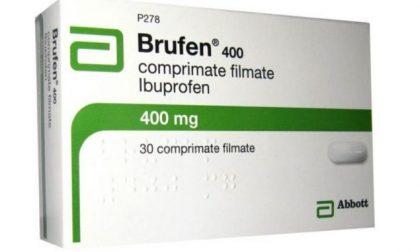 Lotti di antinfiammatorio Brufen ritirati dal commercio