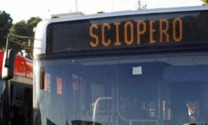 Mercoledì 24 luglio sciopero del trasporto pubblico