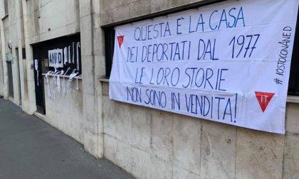 Multa per striscione di protesta: Ex deportati fanno ricorso al prefetto