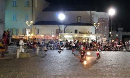 Guerrieri longobardi in piazza, Fara riscopre le sue origini FOTO VIDEO