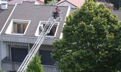 Malore in casa, per salvarla intervengono i pompieri