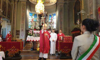 Bancarelle e devozione a Sant'Agata per San Fermo | FOTO