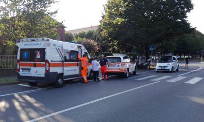 Incidente tra auto e scooter  a Gessate
