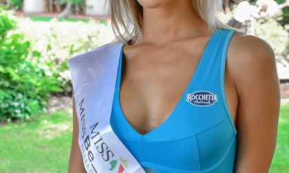 Alessia Pasqualon da Cassina de' Pecchi alla finale di Miss Italia