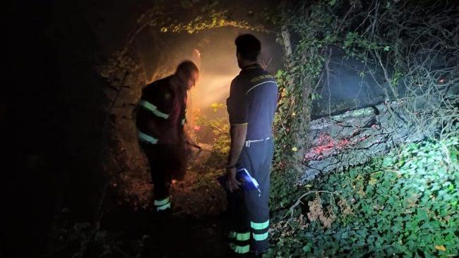 Incendio doloso al Centroparco di Segrate